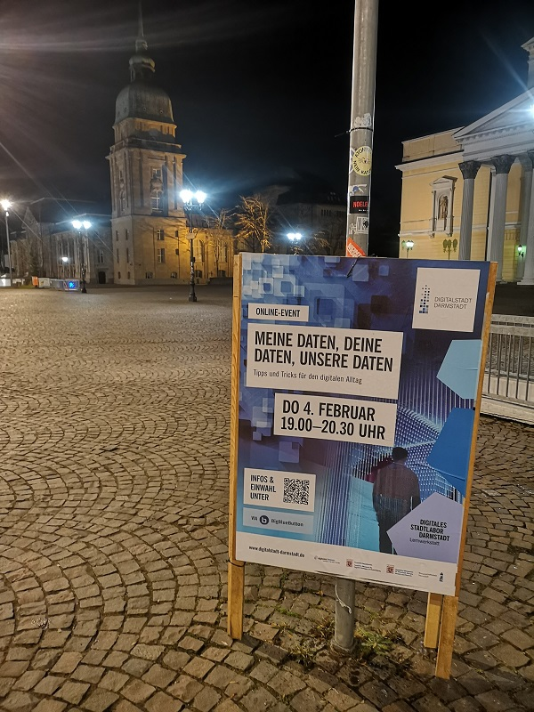 Plakatwerbung - Digitalstadt Darmstadt