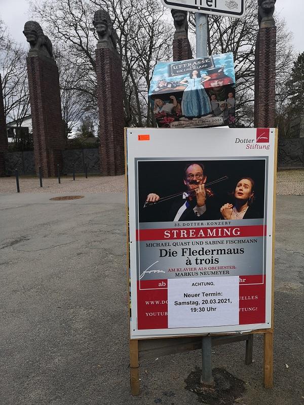 Plakatwerbung - Dotter Stiftung