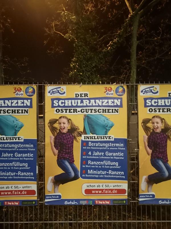 Plakatwerbung - Faix - Darmstadt