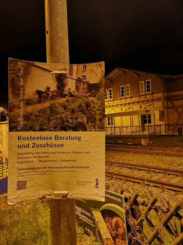 Plakatwerbung Stadt Darmstadt