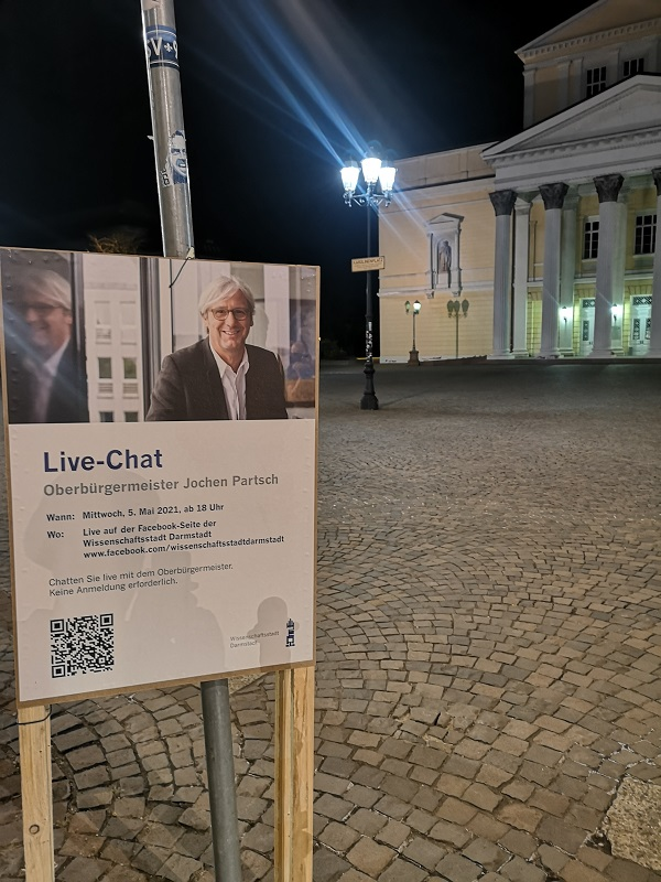 Plakatwerbung - Stadt Darmstadt
