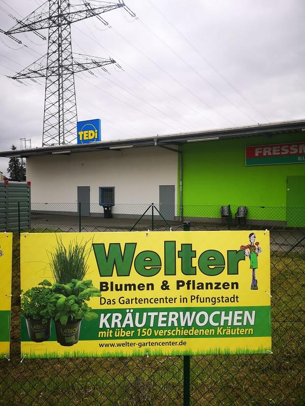 Plakatwerbung - Welter Gartencenter