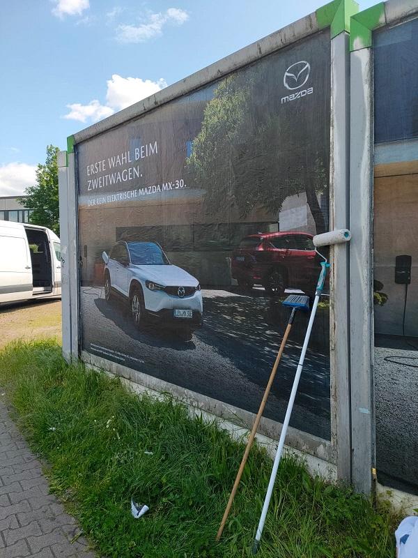 Plakatwerbung - Autohaus Zurell - Darmstadt