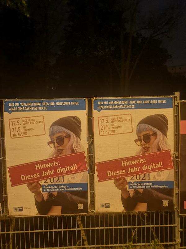 Plakatwerbung - IHK - Darmstadt