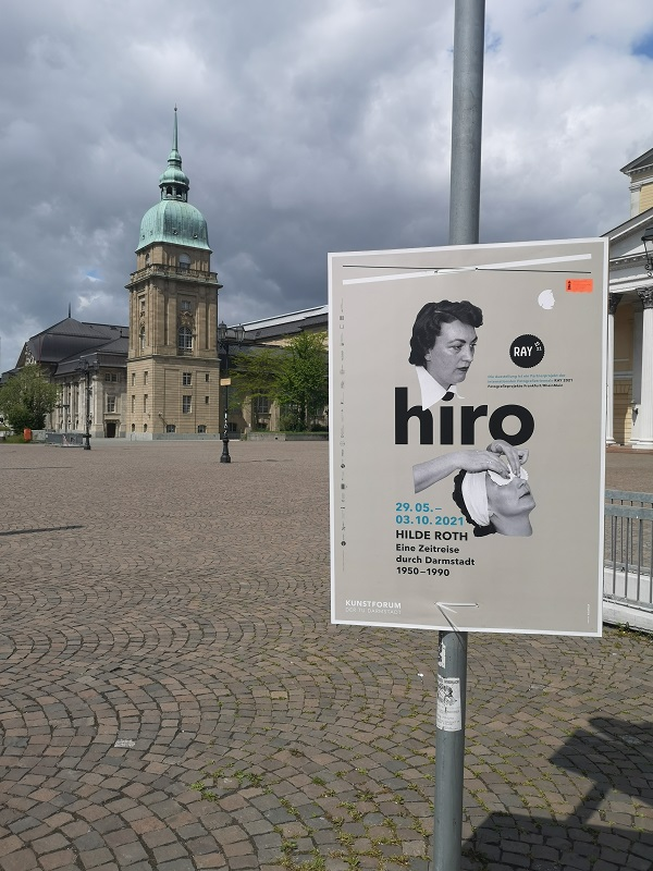 Plakatwerbung - TU-Darmstadt - Kunstforum