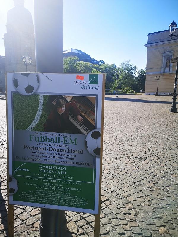 Plakatwerbung - Dotter-Stiftung