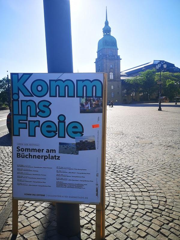 Plakatwerbung - Staatstheater Darmstadt
